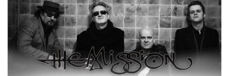 The Mission band merch jetzt online...