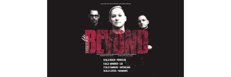Beyond Obsession Monopop Tour 2021