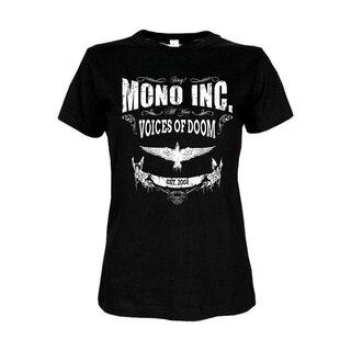 Girl-Shirt MONO INC. Voices Of Doom L