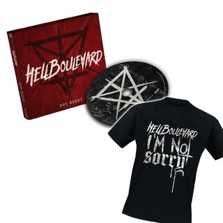 Hell Boulevard - Not Sorry Bundle: CD + T-Shirt Not Sorry