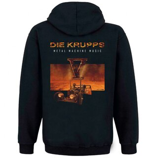 Hooded zipper Die Krupps - Metal Machine Music