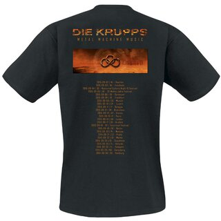 T-Shirt - Die Krupps - Metal Machine Music Tour 2015