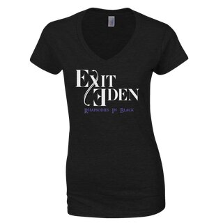 Girly-Shirt Exit Eden Rhapsodies In Black
