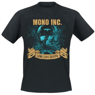 T-Shirt MONO INC. Long Live Death