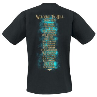 T-Shirt MONO INC. Welcome To Hell Tour