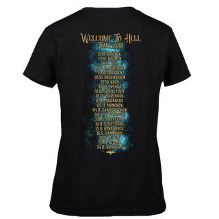 Girl-Shirt MONO INC. Welcome To Hell Tour