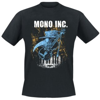 T-Shirt MONO INC. Welcome To Heaven S