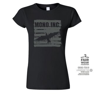 Girl-Shirt MONO INC. Raven Retro