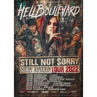 Hell Boulevard - Not Sorry Tour - München Backstage Club 17.01.2022