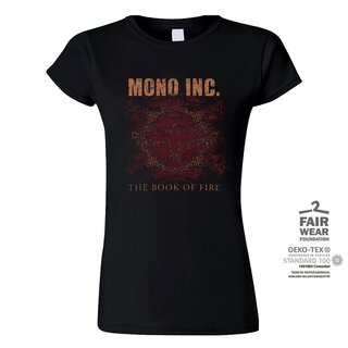 Girl-Shirt MONO INC. The Book Of Fire