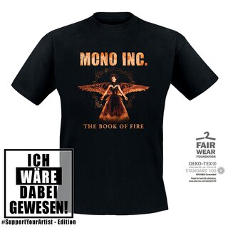 #SupportYourArtist-Shirt MONO INC. The Book of Fire Tour