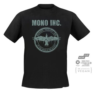 T-Shirt MONO INC. - Solidarity, Tolerance & Love