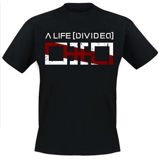 T-Shirt A Life Divided Typo S
