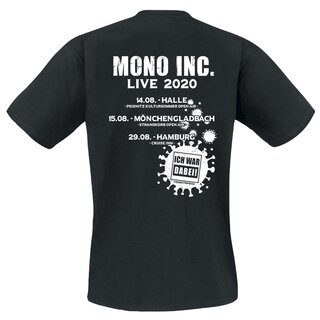 T-Shirt MONO INC. The Raven Flies Again Live 2020