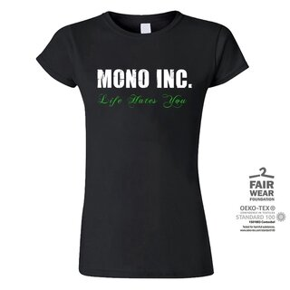 Girl-Shirt MONO INC. Life Hates You