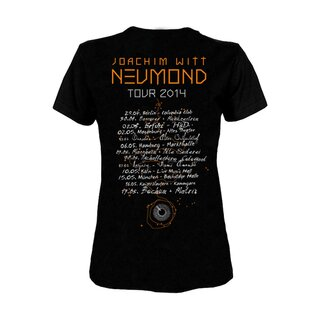 Girly-Shirt Joachim Witt Neumond Tour 2014