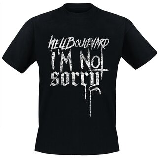 <p>The Hell Boulevard-shirt for the new album &quot;Not Sorry&quot;!</p>